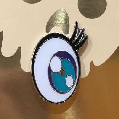 Takashi Murakami Green Eye Pin
