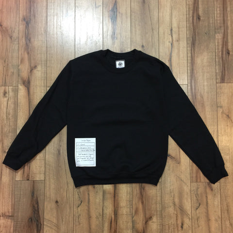 Companion Crewneck (Black)