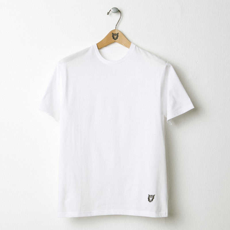 HUMAN MADE White Plain Logo Tee (Ape)