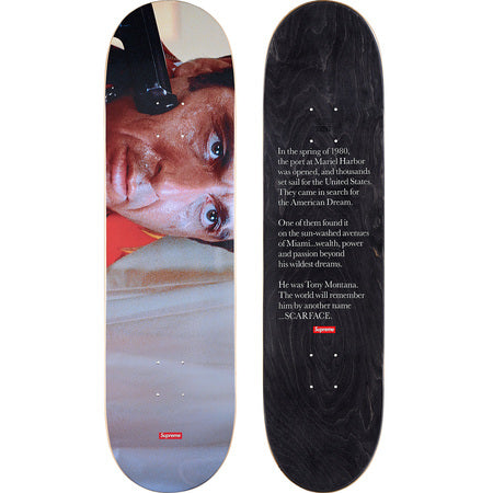 Supreme Scarface Skateboard Set