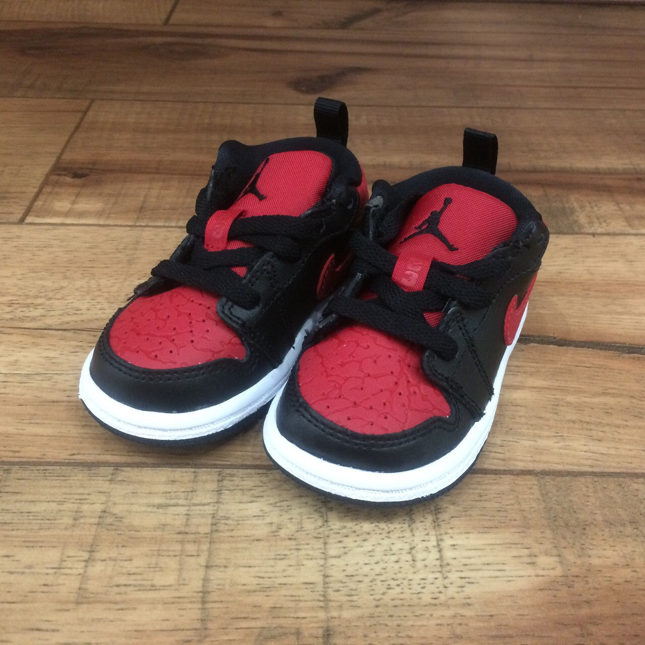 quality design 9b895 42a6a ... shoes white 61849 579 4c64b e74a0 ireland nike air baby jordan 1 red  black low ps 644476 013 superbored clothing ltd. ...