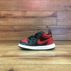 NIKE AIR BABY JORDAN 1 (Red/Black Low ps) 644476 013