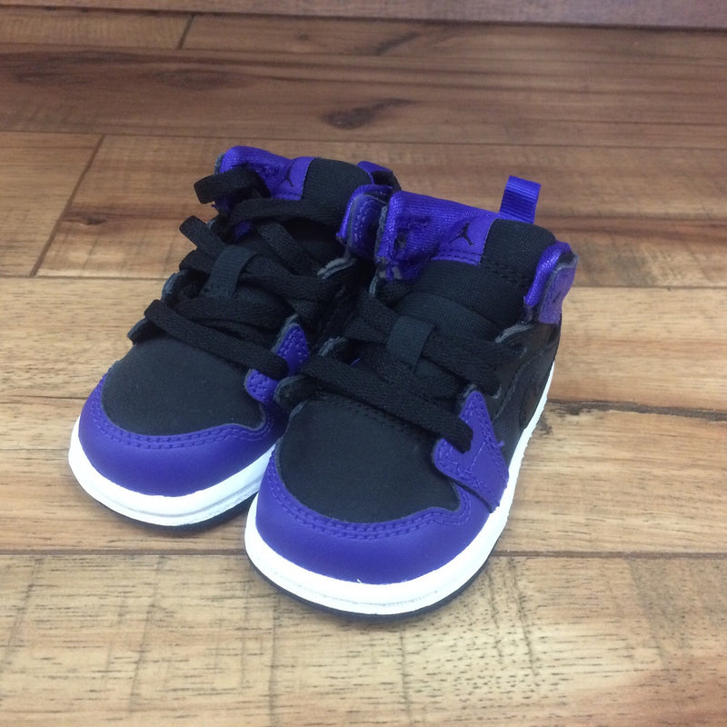 NIKE AIR BABY JORDAN 1 (Purple/Black ps) 640735 029