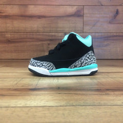 NIKE AIR BABY JORDAN 3 RETRO GT (Tiffany Blue / Black ps)