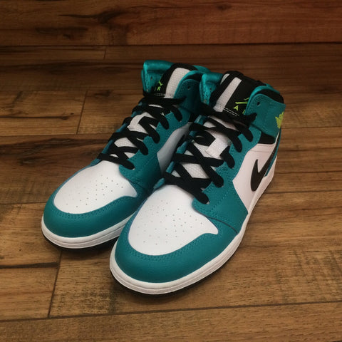 NIKE AIR JORDAN 1 MID GS (555112-128)