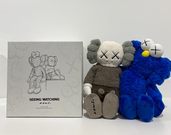 "KAWS Seeing/Watching Limited Edition 16"" Plush"