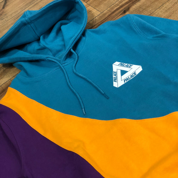 Palace Sweeper Hood (Teal/Gold/Purple)