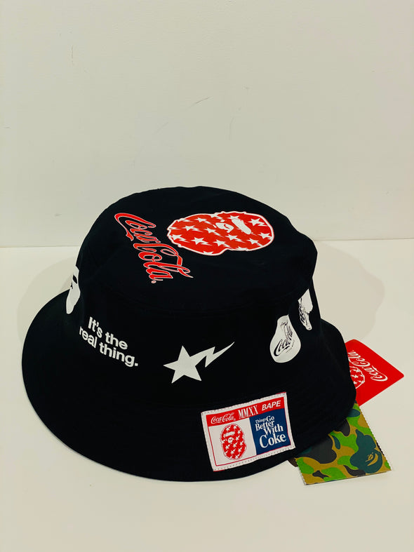 CocaCola x BAPE Bucket Hat