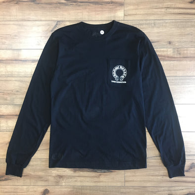 CHROME HEART LA L/S TEE (BLACK)