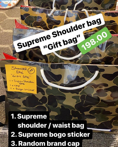 Supreme Shoulder Bag Gift Bag