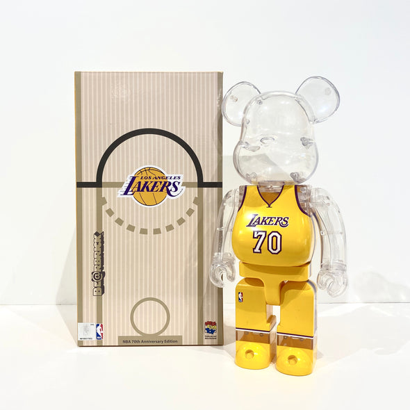 Be@rbrick Lakers 400% Bearbrick