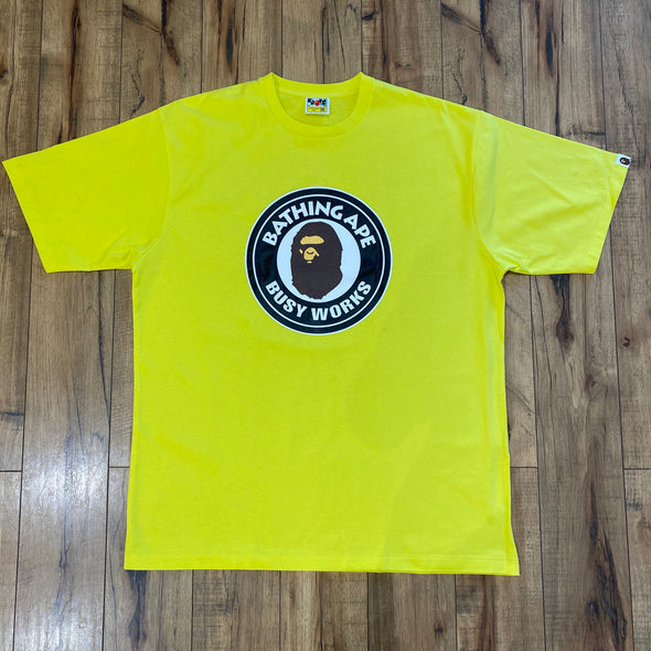 BAPE Head Circle Logo (Yellow)