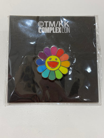 Takashi Murakami Rainbow Flower Pin (Rainbow)
