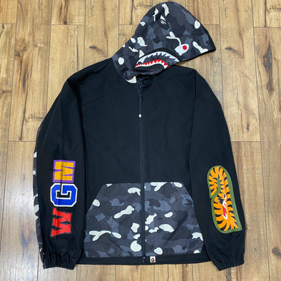 BAPE City Camo Shark Windbreaker Jacket