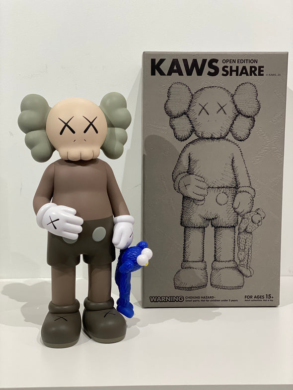 KAWS Share Vinyl Figure Brown