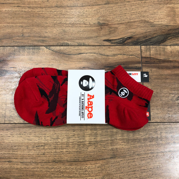 Aape ankle socks (Red)