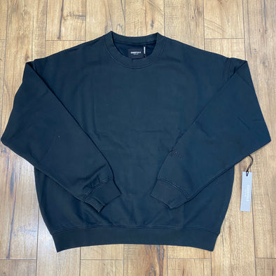 FEAR OF GOD ESSENTIALS 3M Logo Crewneck (Black)