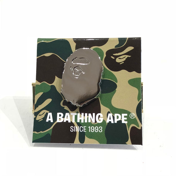 Bape Silver badge ( Pin )