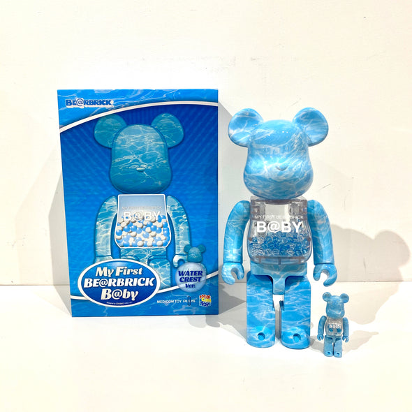 Be@rbrick My First Baby 400% Water Crest Ver.