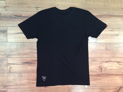 WTAPS Crew neck Plain Tee ( Black )