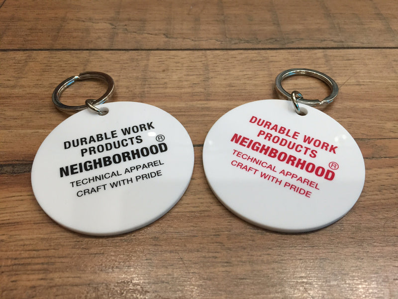 NEIGHBORHOOD DWP KEYCHAIN (2 COLORS)