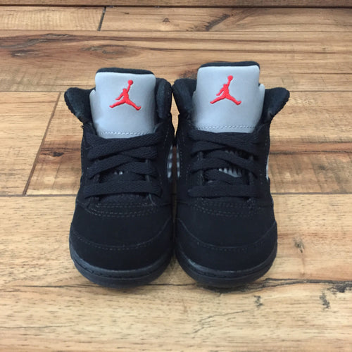 Nike Air Jordan 5 OG metallic black toddler (440890 003)