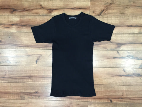 CHROME HEART PLAIN TEE (Black)