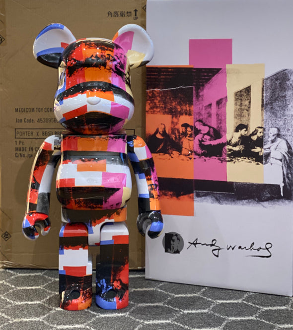 "Andy Warhol ""The Last Supper"" 1000% BE@RBRICK"