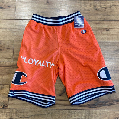 """NO OTHER GODS"" - Champion Mesh Short (Peach)"
