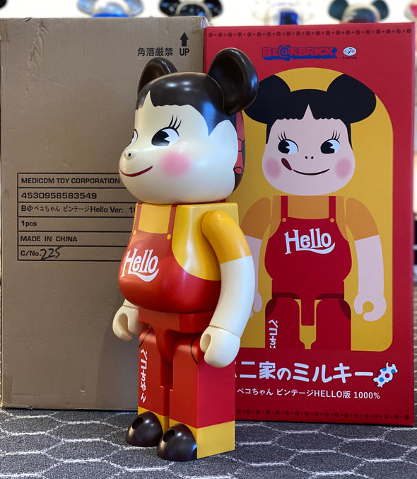 Be@rbrick Peko-chan HELLO 1000%