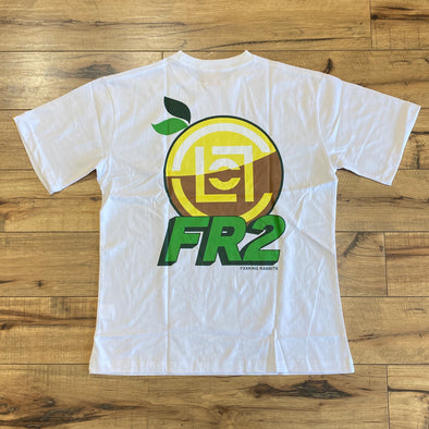 Fxxking Rabbit FR2 x CLOT Lemon Tee (White)