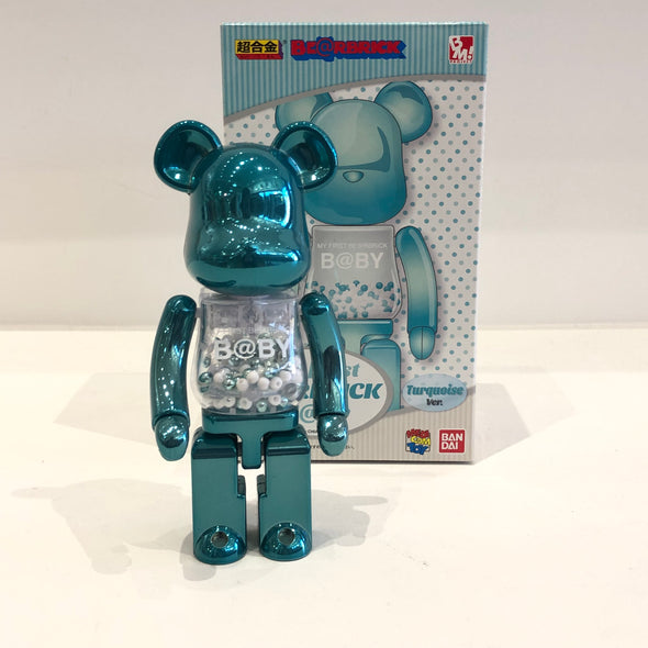 My First Be@rbrick baby Chogokin  200%  (Turquoise)