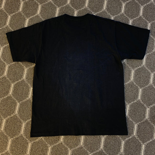 BAPE Hologram College Outline Tee Black