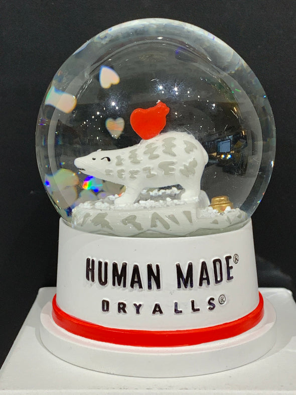HUMAN MADE limited edition polar bear snow globe