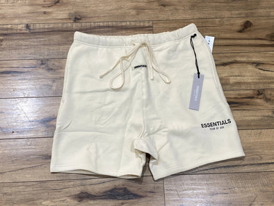 FEAR OF GOD ESSENTIALS 3M Logo Shorts (Cream)