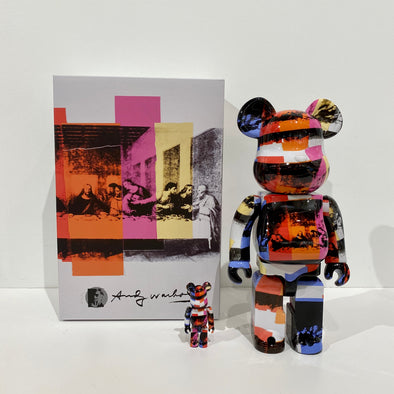 "Andy Warhol ""The Last Supper"" 100% & 400% BE@RBRICK"