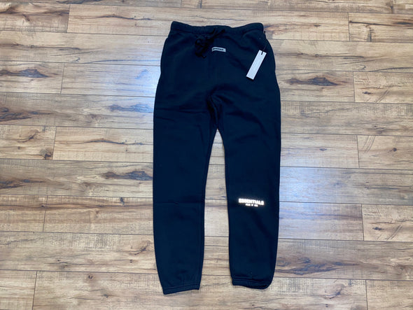 FEAR OF GOD ESSENTIALS 3M Logo Sweatpant pants (Black)