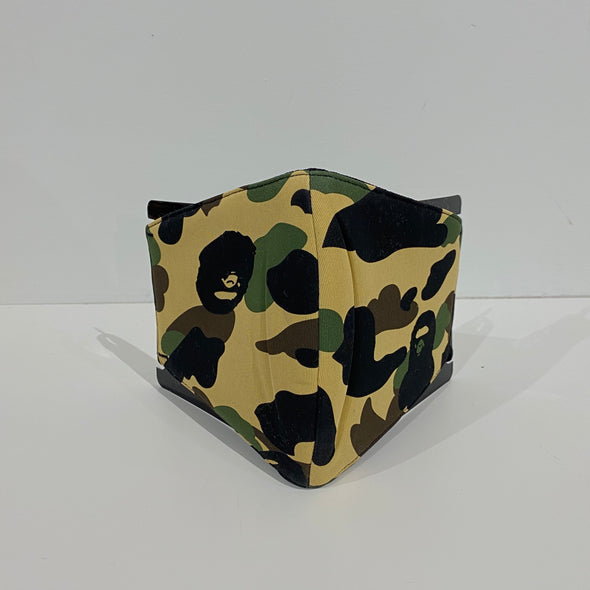 BAPE Full 1st Camo Mask (Yellow)