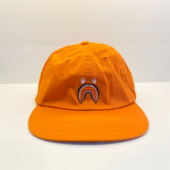 BAPE 2nd Shark Panel Cap (Orange)
