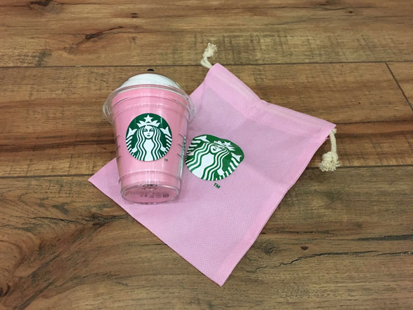 Starbucks cold drink charger (Green/Pink/Yellow)