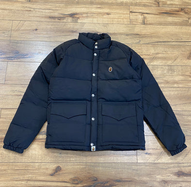 BAPE One Point Logo Down Jacket
