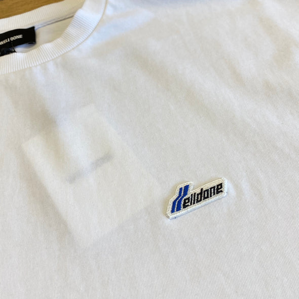 We11done Small Logo Tee (White)