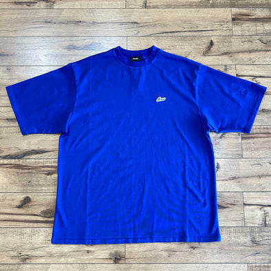 We11done Small Logo Tee (Blue)