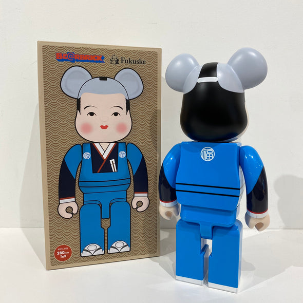 Be@rbrick Fukuske Good Luck 400% (Blue)