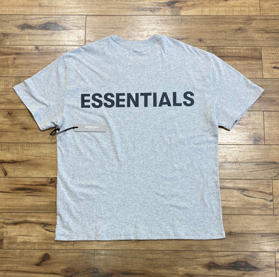 FEAR OF GOD ESSENTIALS 3M Core Logo Short Sleeve Tee (Grey)