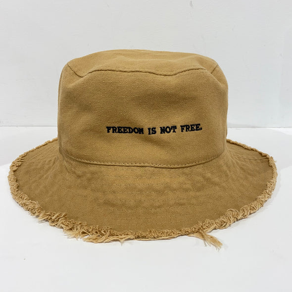 Freedom is not Free Bucket Hat