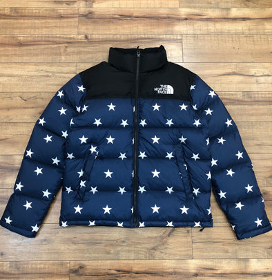 The North Face USA (Blue Star) Limited Edition Nuptse Jacket