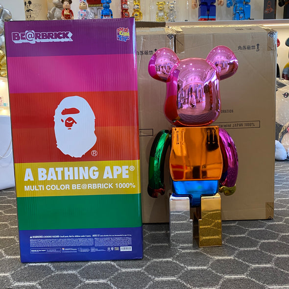 Be@rbrick A Bathing Ape 25th Anniversary