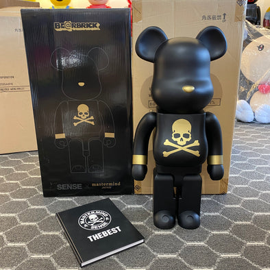 Be@rbrick x Mastermind Japan x Sense 1000% Black