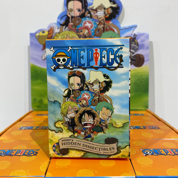 ONE PIECE FREENY'S HIDDEN DISSECTIBLES Mighty Jaxx